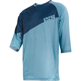 IXS Vibe 6.1 BC 3/4 Sleeve Jersey Men brisk blue/night blue
